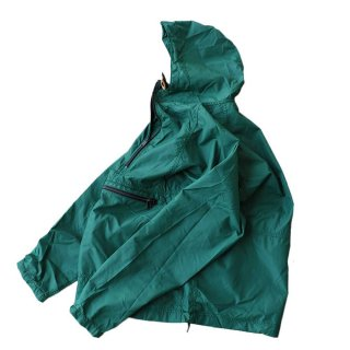 80's L.L. Bean 100% Nylon Jacket(Made in U.S.A)表記M FORESTGREEN