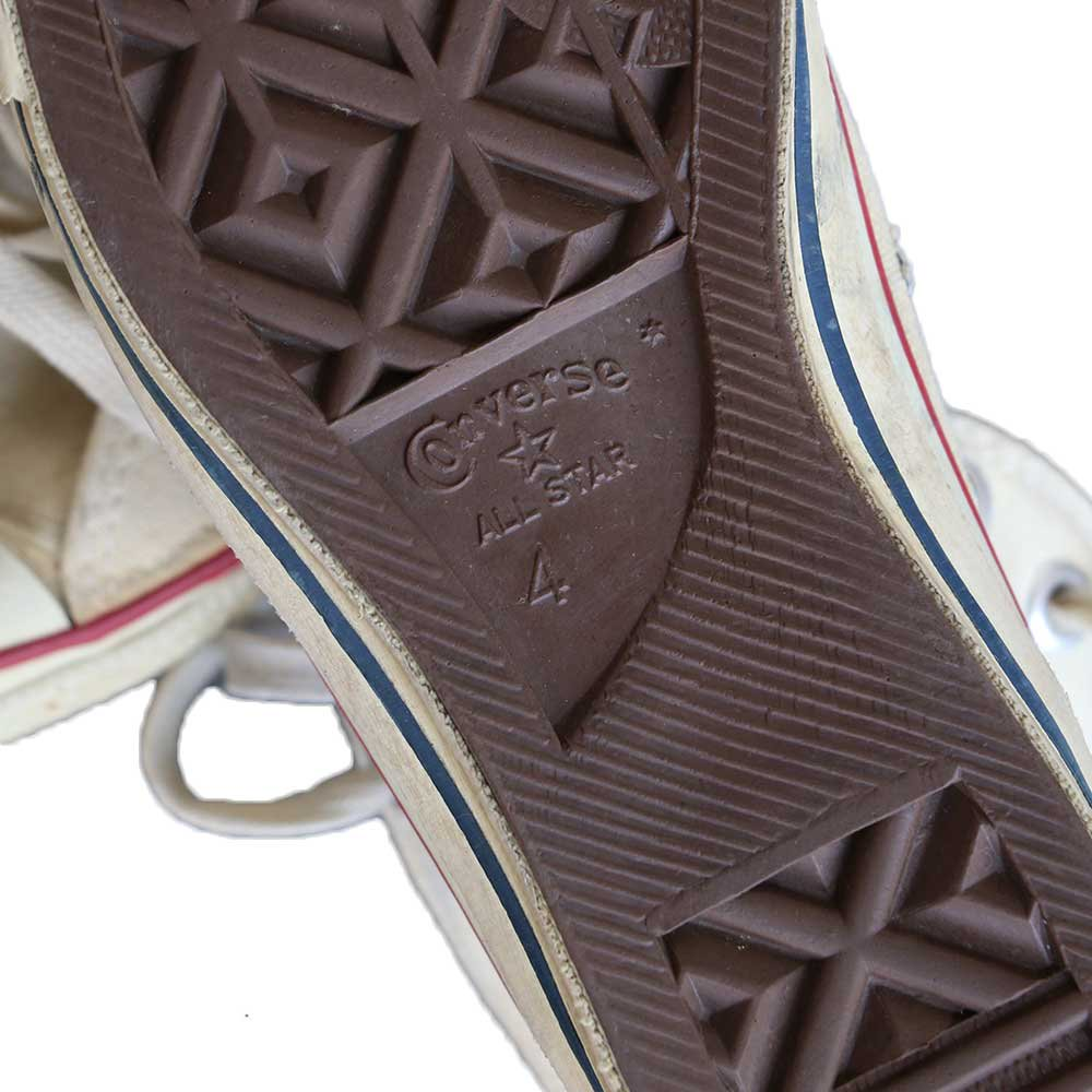 w-means(ダブルミーンズ) 80's Converse Allstar Hi(Made in U.S.A.)表記4  生成色 詳細画像2