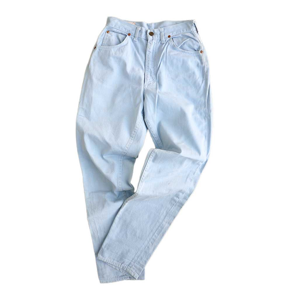 w-means(ダブルミーンズ) Lady Lee WESTERNER Cotton Pants(Made in U.S.A.)表記なし  right blue 詳細画像