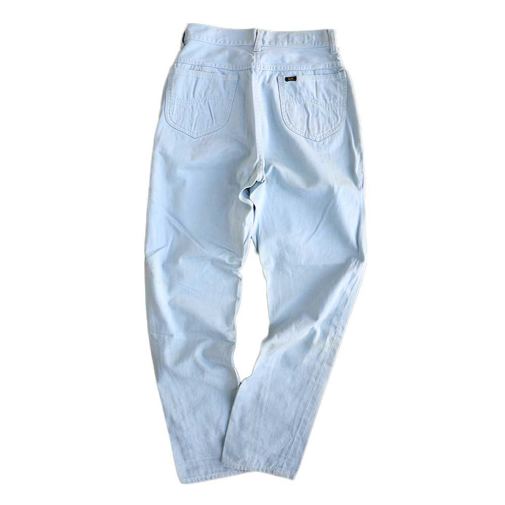 w-means(ダブルミーンズ) Lady Lee WESTERNER Cotton Pants(Made in U.S.A.)表記なし  right blue 詳細画像1