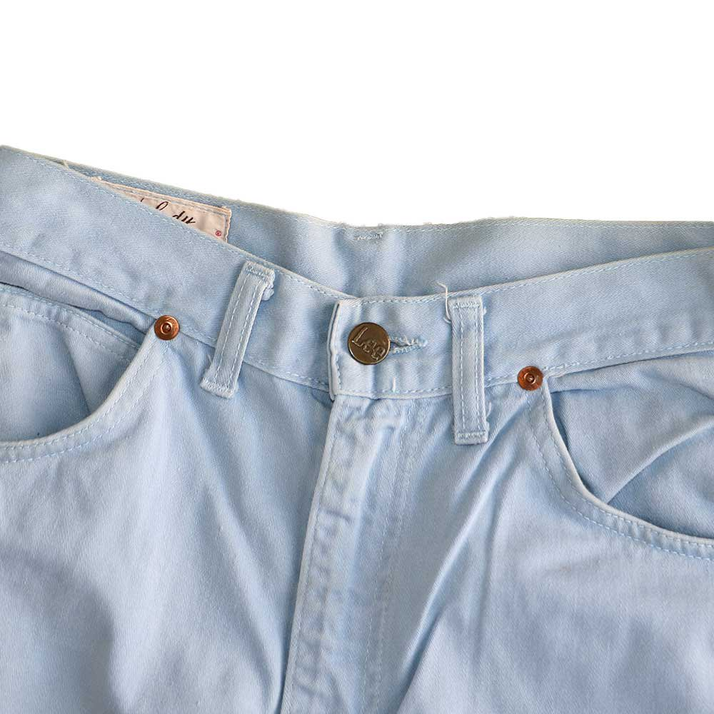 w-means(ダブルミーンズ) Lady Lee WESTERNER Cotton Pants(Made in U.S.A.)表記なし  right blue 詳細画像3