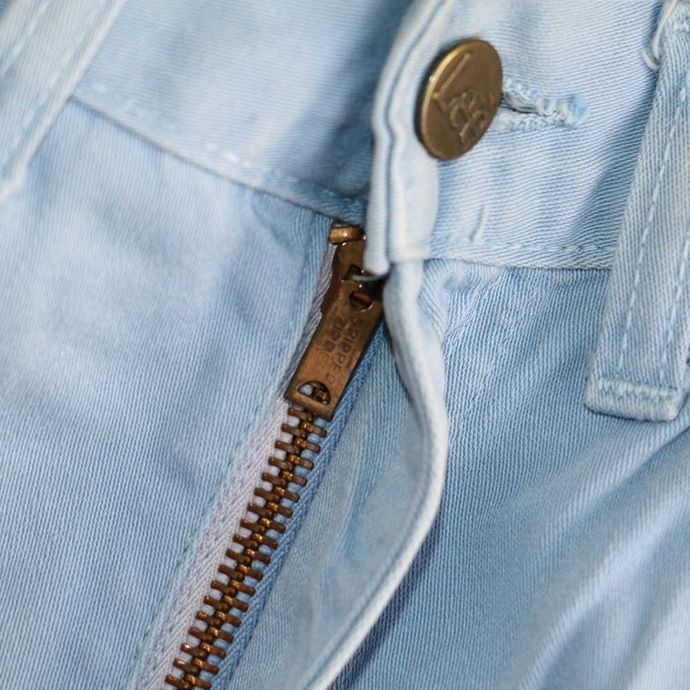 w-means(ダブルミーンズ) Lady Lee WESTERNER Cotton Pants(Made in U.S.A.)表記なし  right blue 詳細画像4