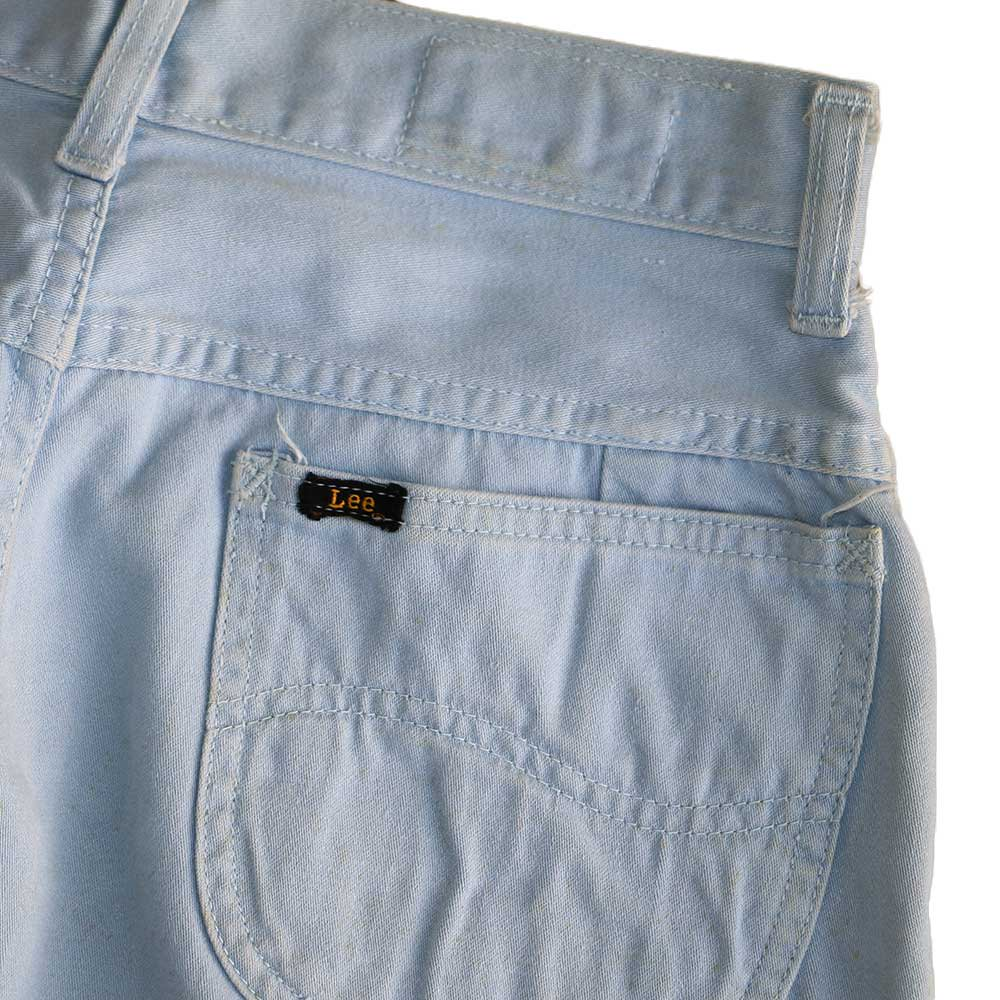 w-means(ダブルミーンズ) Lady Lee WESTERNER Cotton Pants(Made in U.S.A.)表記なし  right blue 詳細画像5