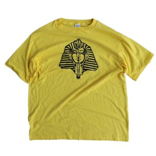CHED by Anvil 50/50 半袖Tシャツ(Made in U.S.A.)表記xL  Yellow