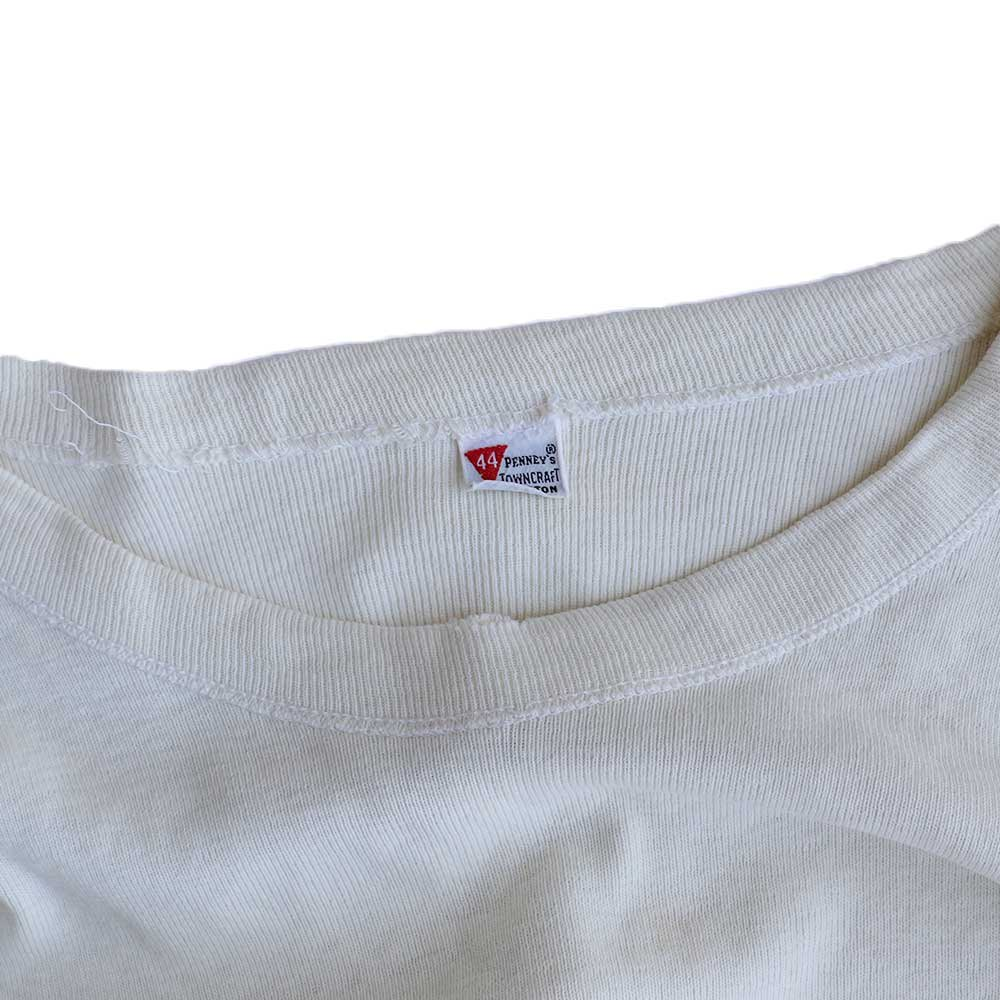 w-means(ダブルミーンズ) PENNEY'S TOWNCRAFT 100% COTTON サーマル  表記44  生成色 詳細画像1