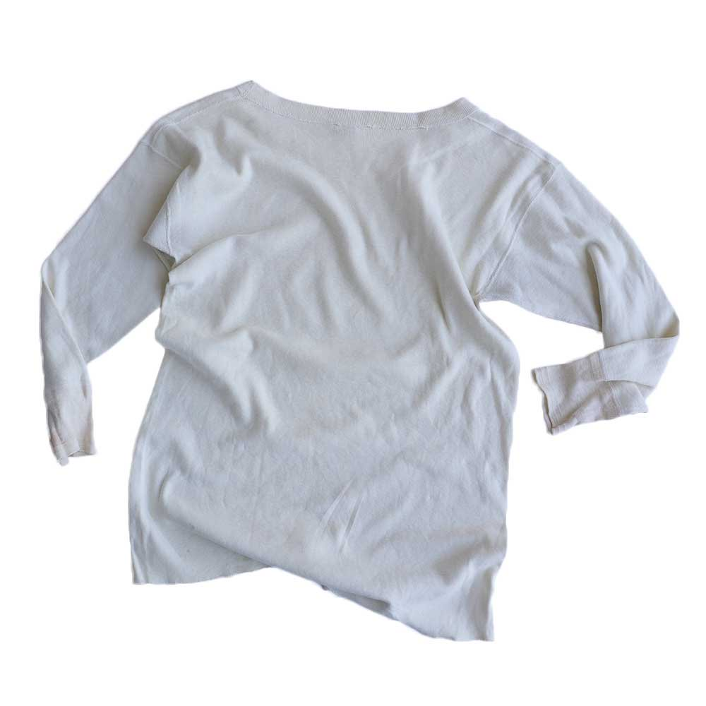 w-means(ダブルミーンズ) PENNEY'S TOWNCRAFT 100% COTTON サーマル  表記44  生成色 詳細画像2