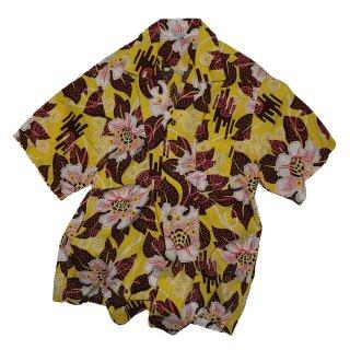 MADE IN HAWAII 100% Cotton 半袖シャツ  表記M  アロハ柄