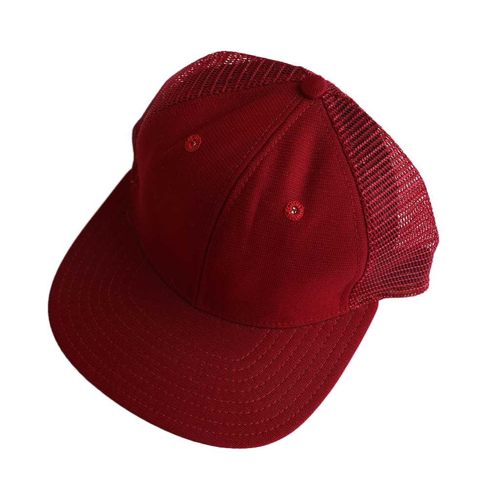 w-means(ダブルミーンズ) New Era  メッシュキャップ(Made in U.S.A.)表記 ONE SIZE FITS ALL  Burgundy 詳細画像2