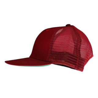 New Era  メッシュキャップ(Made in U.S.A.)表記 ONE SIZE FITS ALL  Burgundy