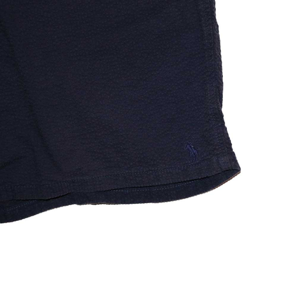 w-means(ダブルミーンズ) Polo Ralph Lauren 100% cotton ショーツ(Made in U.S.A.)表記32  濃紺 詳細画像3