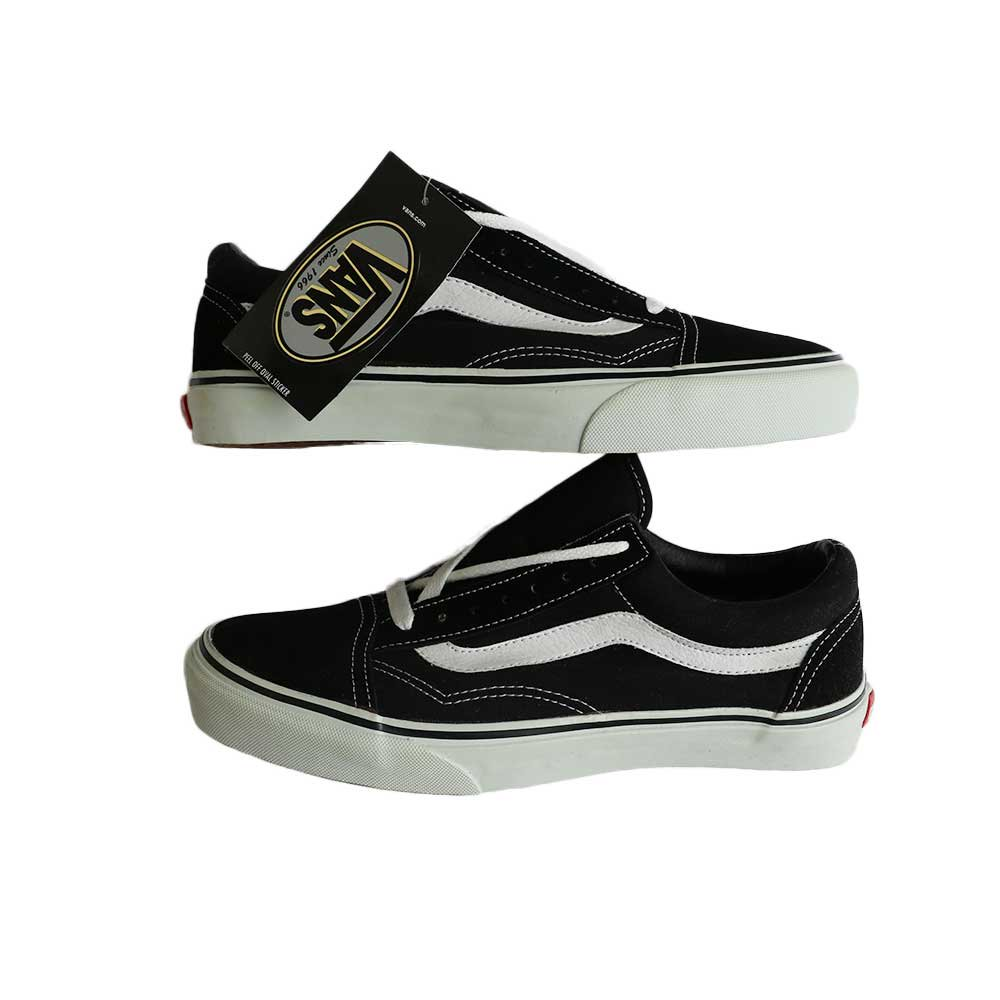 w-means(ダブルミーンズ) 90's VANS Old Skool (Made in China)(Dead Stock)表記8 Black/White  詳細画像4
