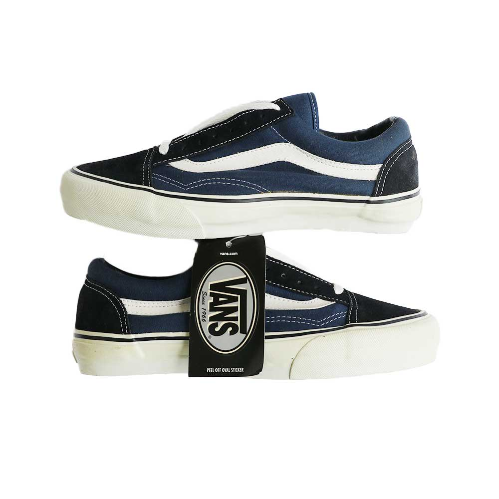 w-means(ダブルミーンズ) 90's VANS Old Skool (Made in China)(Dead Stock)表記8 NAVY SUEDE 詳細画像4