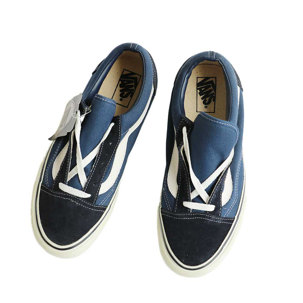 w-means(ダブルミーンズ) 90's VANS Old Skool (Made in China)(Dead Stock)表記8 NAVY SUEDE 詳細画像5