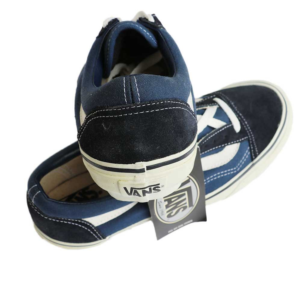 w-means(ダブルミーンズ) 90's VANS Old Skool (Made in China)(Dead Stock)表記8 NAVY SUEDE 詳細画像6