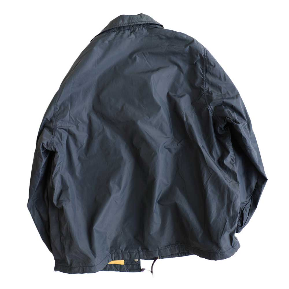 w-means(ダブルミーンズ) L.L.Bean ナイロンコーチジャケット(Made in U.S.A.)表記 WOMEN'S - xL  NAVY 詳細画像1
