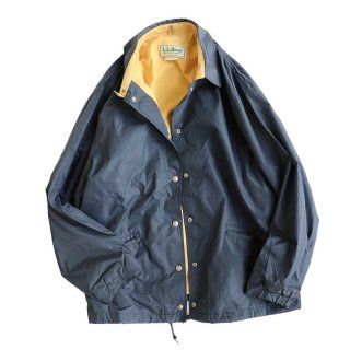 L.L.Bean ナイロンコーチジャケット(Made in U.S.A.)表記 WOMEN'S - xL  NAVY