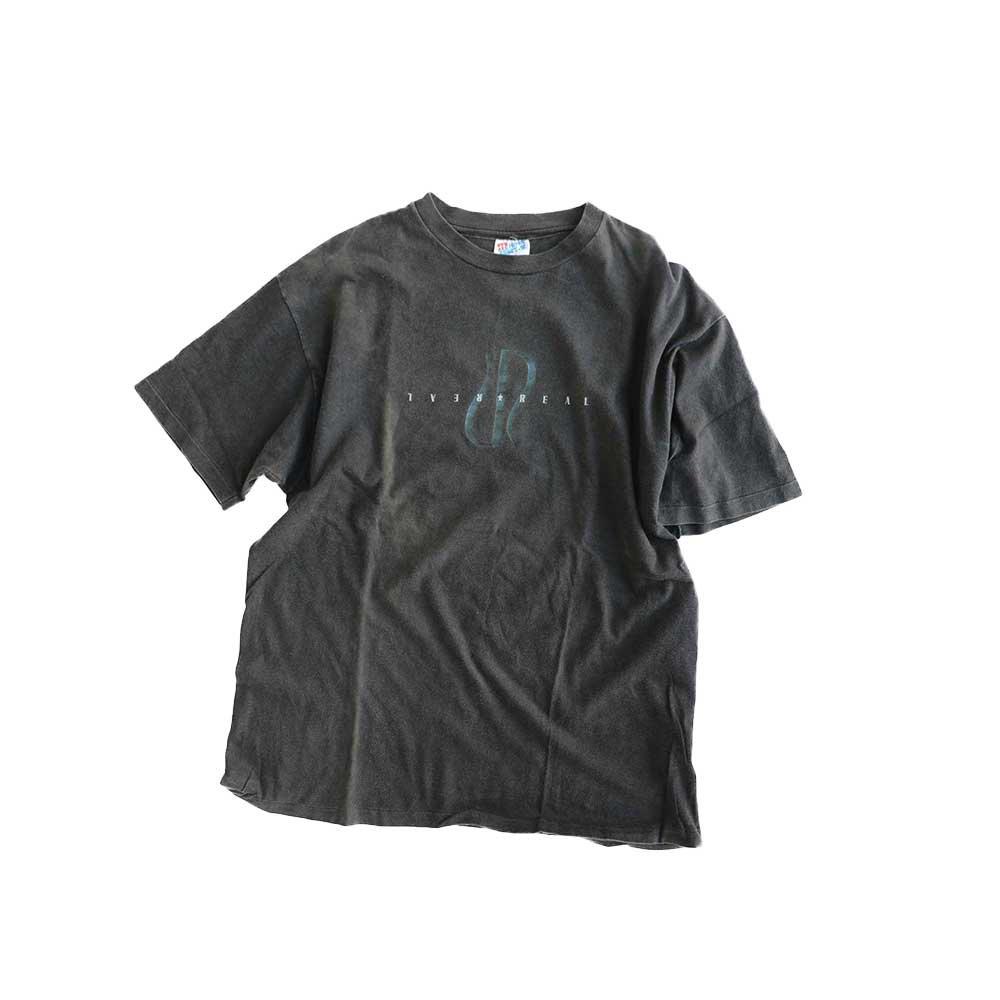 w-means(ダブルミーンズ) REAL SKATEBOARDS コットン半袖Tシャツ(Made in U.S.A)表記L   Black 詳細画像