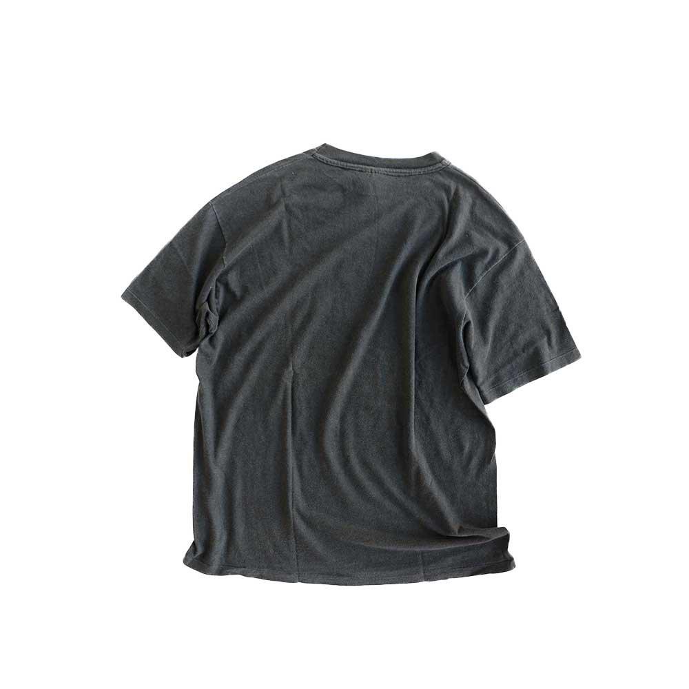w-means(ダブルミーンズ) REAL SKATEBOARDS コットン半袖Tシャツ(Made in U.S.A)表記L   Black 詳細画像2