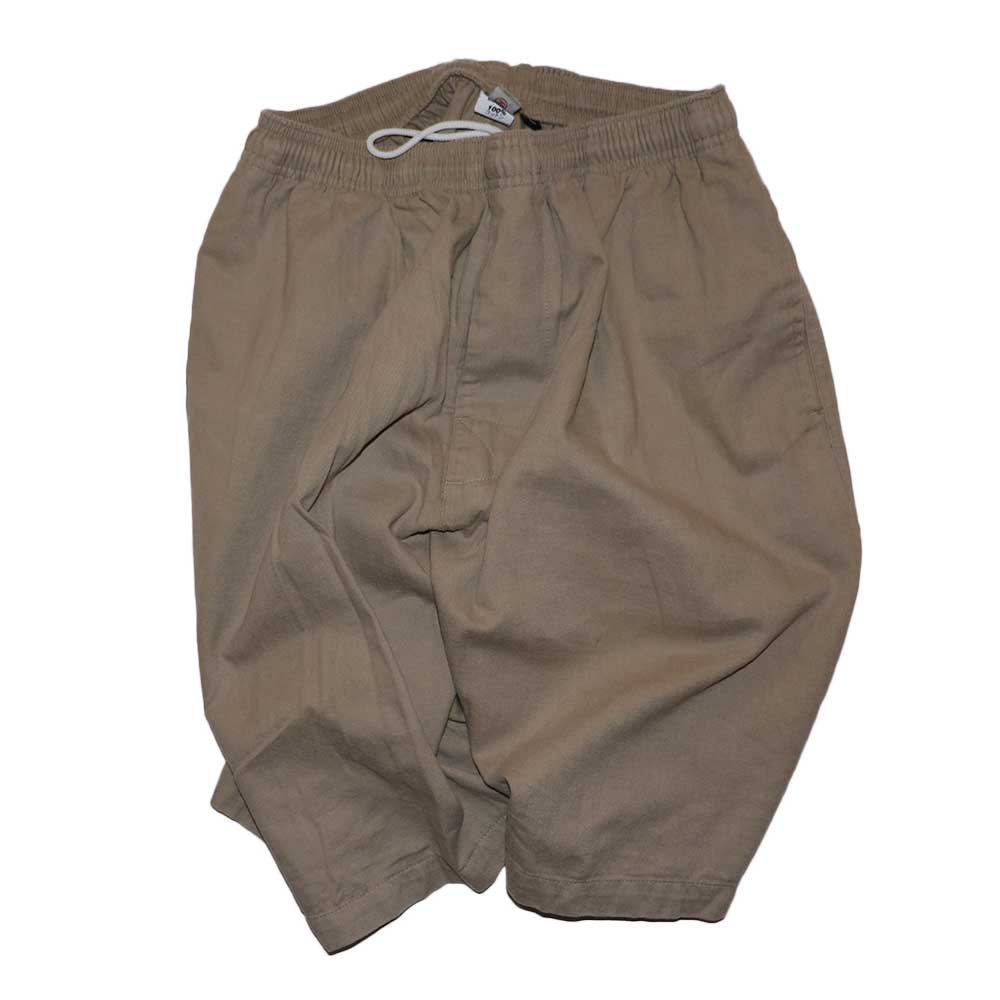 w-means(ダブルミーンズ) old stussy 100%コットンショーツ(Made in U.S.A.)表記L  Beige 詳細画像