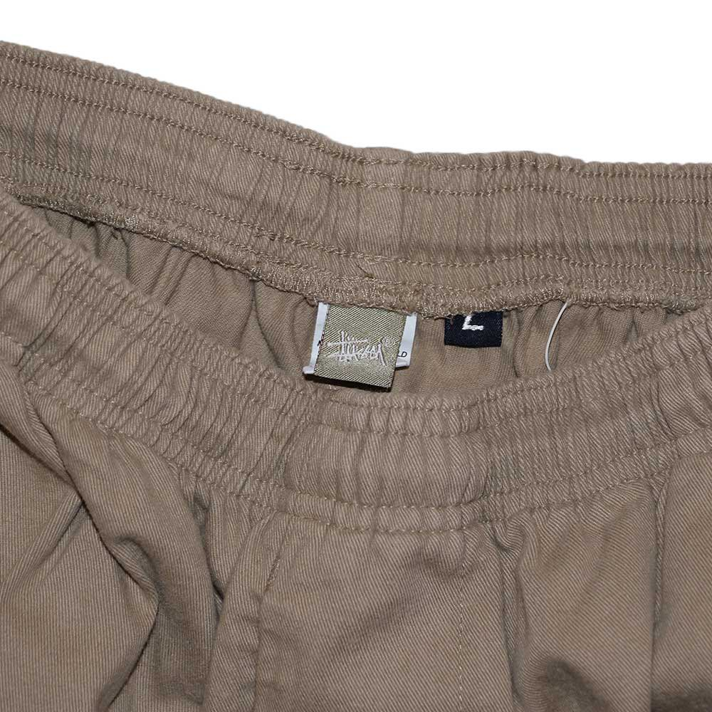 w-means(ダブルミーンズ) old stussy 100%コットンショーツ(Made in U.S.A.)表記L  Beige 詳細画像1