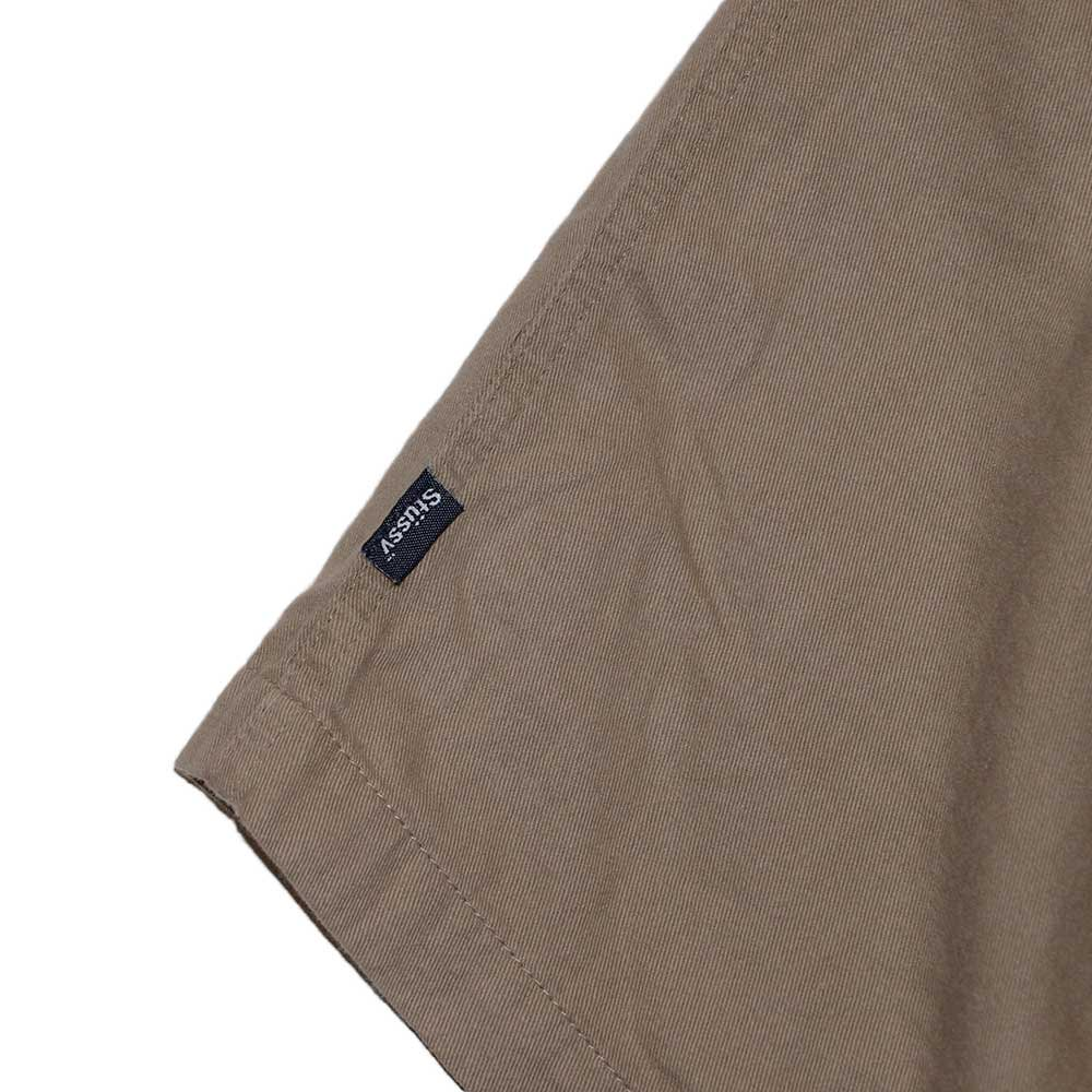 w-means(ダブルミーンズ) old stussy 100%コットンショーツ(Made in U.S.A.)表記L  Beige 詳細画像2