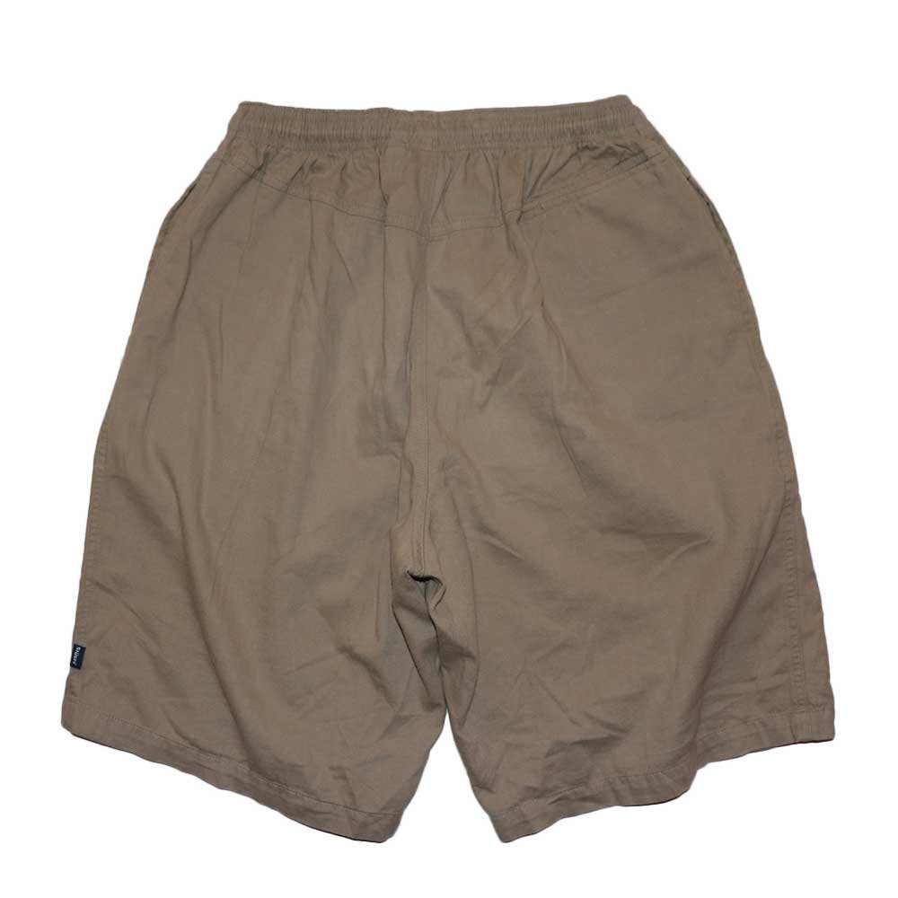 w-means(ダブルミーンズ) old stussy 100%コットンショーツ(Made in U.S.A.)表記L  Beige 詳細画像4