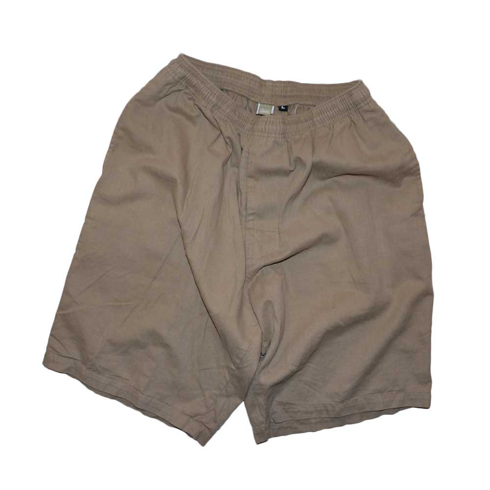 w-means(ダブルミーンズ) old stussy 100%コットンショーツ(Made in U.S.A.)表記L  Beige 詳細画像5
