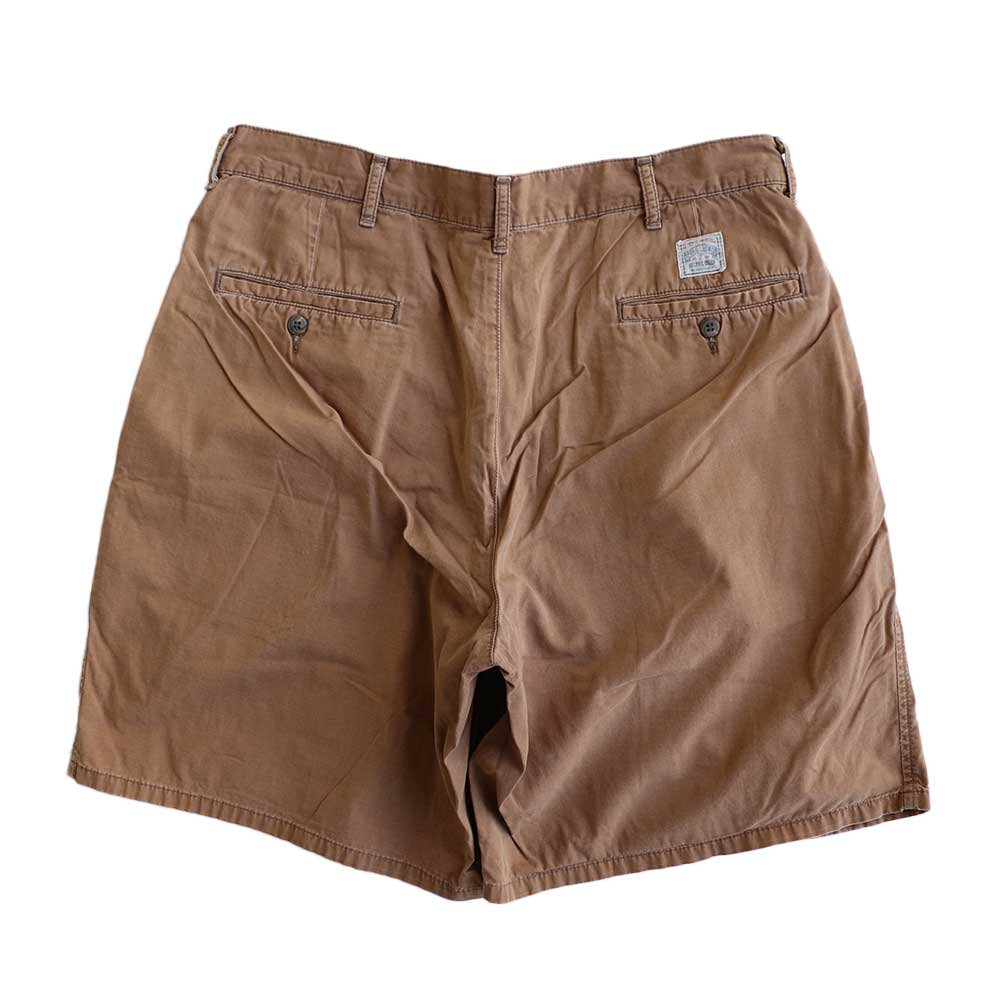 w-means(ダブルミーンズ) Polo Ralph Lauren 100% COTTON TYLER SHORT(Made in U.S.A.)表記w34 らくだ色 詳細画像2