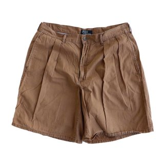 Polo Ralph Lauren 100% COTTON TYLER SHORT(Made in U.S.A.)表記w34 らくだ色
