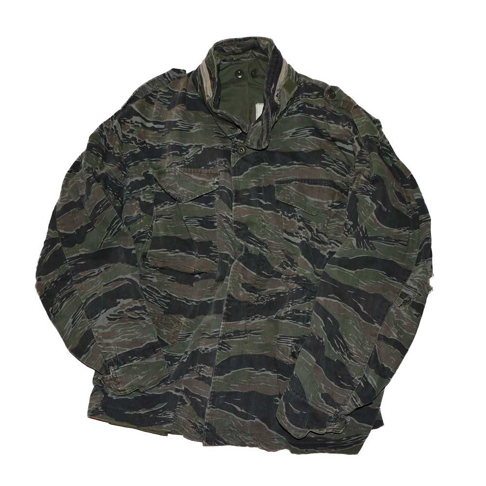 w-means(ダブルミーンズ) M65 FIELD JACKET 表記なし Tigercamo 詳細画像