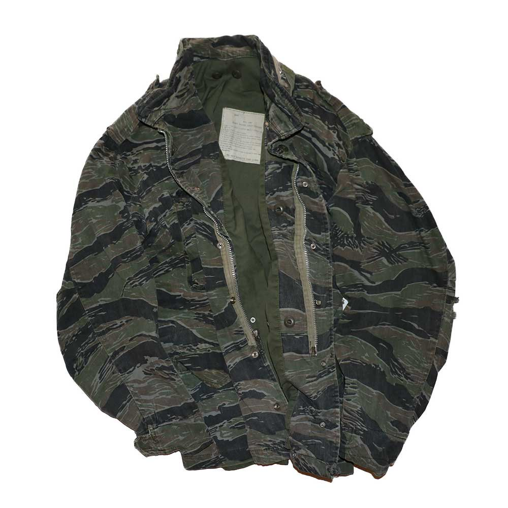 w-means(ダブルミーンズ) M65 FIELD JACKET 表記なし Tigercamo 詳細画像1