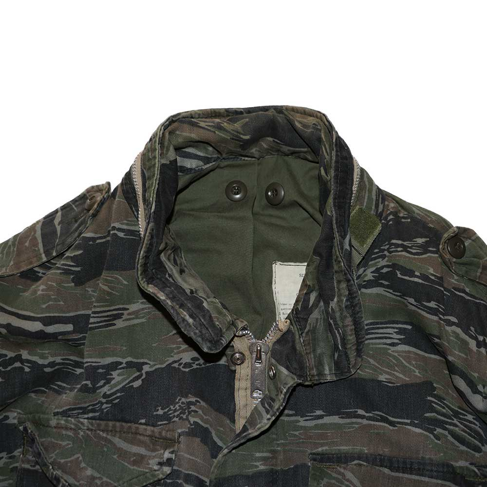 w-means(ダブルミーンズ) M65 FIELD JACKET 表記なし Tigercamo 詳細画像3