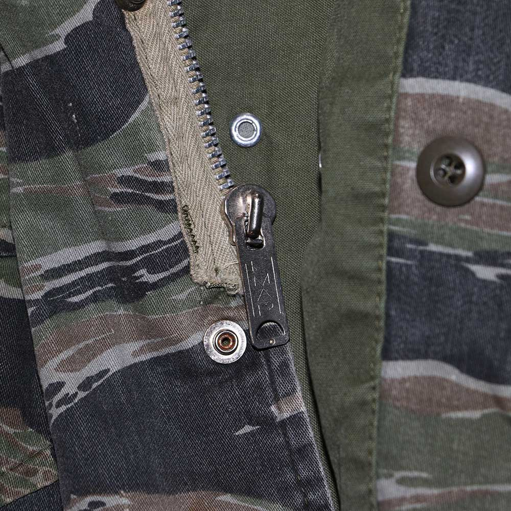 w-means(ダブルミーンズ) M65 FIELD JACKET 表記なし Tigercamo 詳細画像4