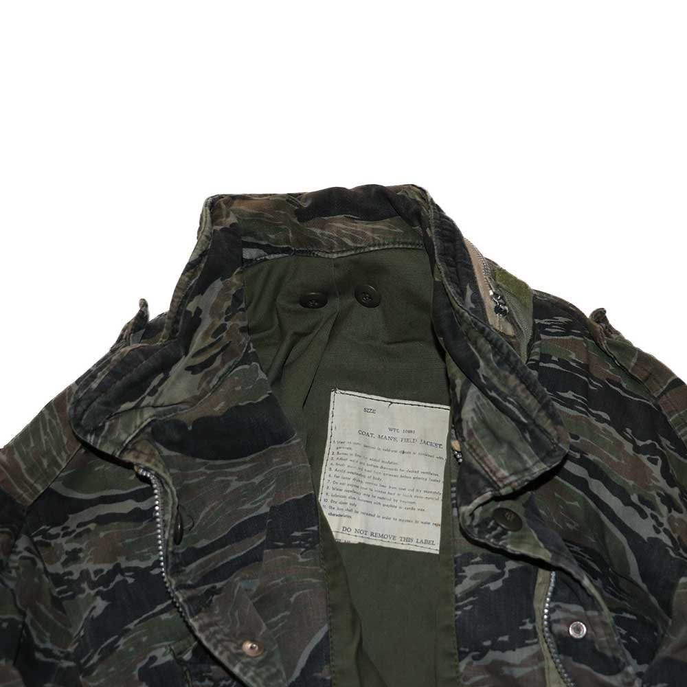w-means(ダブルミーンズ) M65 FIELD JACKET 表記なし Tigercamo 詳細画像5