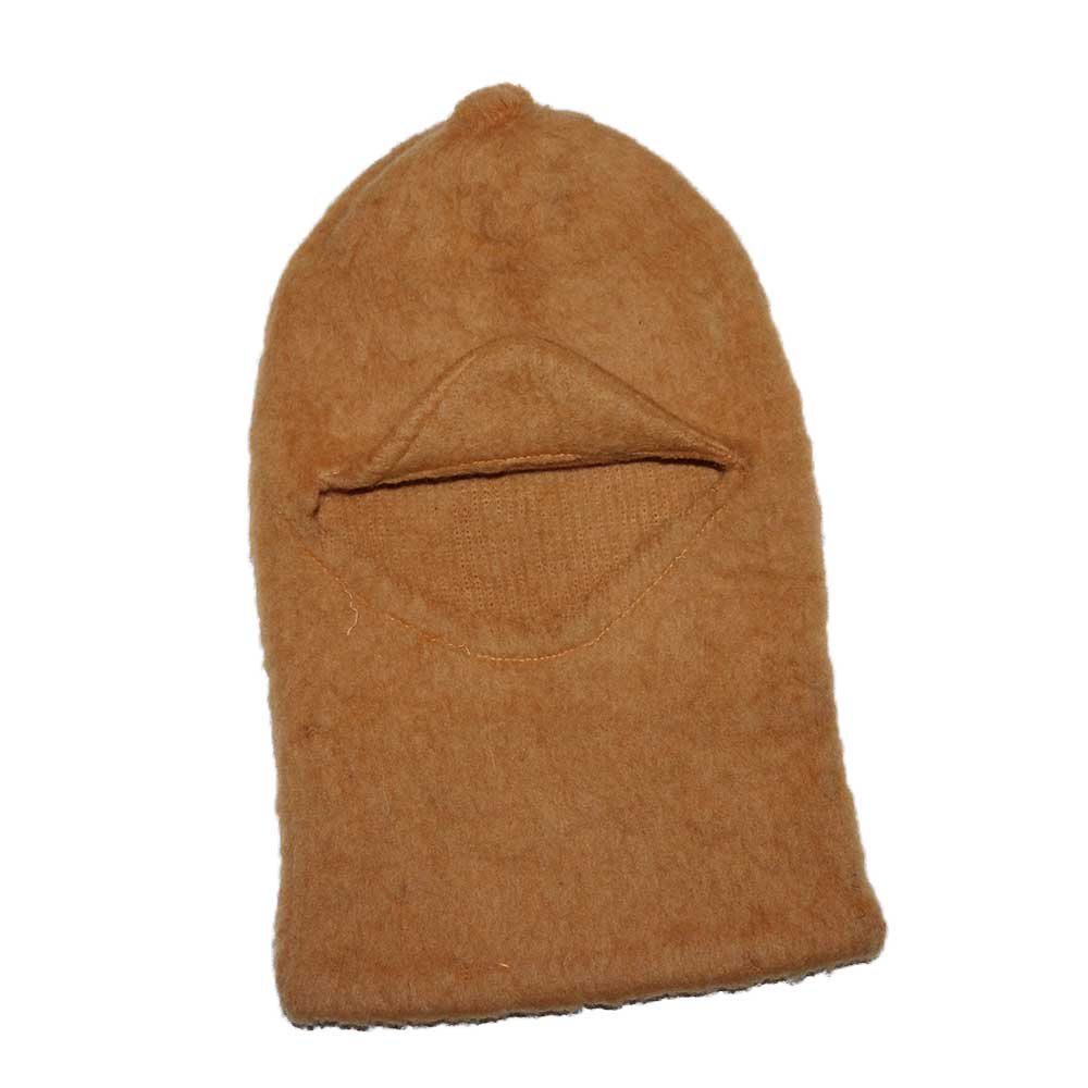 w-means(ダブルミーンズ) FARHAT WOOL目出し帽 one size  beige 詳細画像1
