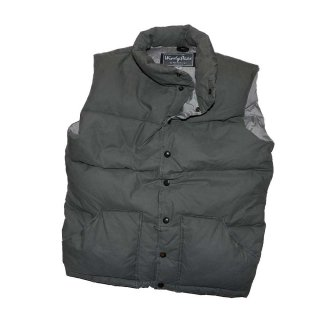 Windy Pass By THE NORTH FACE Down Vest(Made in U.S.A.)表記M concrete