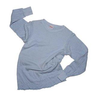duofold Tow Layer Fabric 100%コットンサーマル 表記12  水色