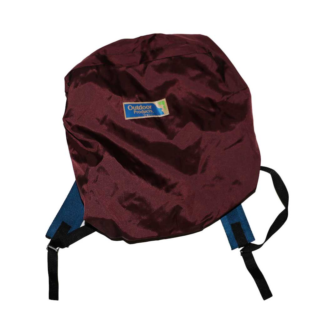 w-means(ダブルミーンズ) Outdoor Products  ナイロンバックパック(MADE IN U.S.A.)Burgundy 詳細画像