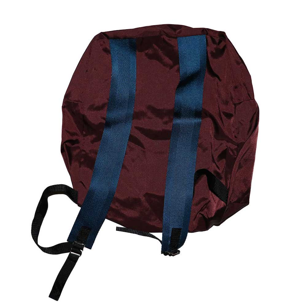 w-means(ダブルミーンズ) Outdoor Products  ナイロンバックパック(MADE IN U.S.A.)Burgundy 詳細画像2