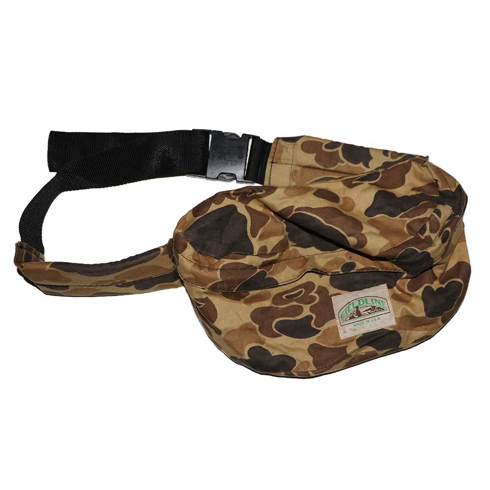 w-means(ダブルミーンズ) FIELDLINE コットンウエストバッグ(Made in U.S.A.)Hunting Camo 詳細画像