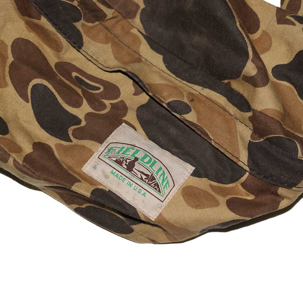 w-means(ダブルミーンズ) FIELDLINE コットンウエストバッグ(Made in U.S.A.)Hunting Camo 詳細画像1