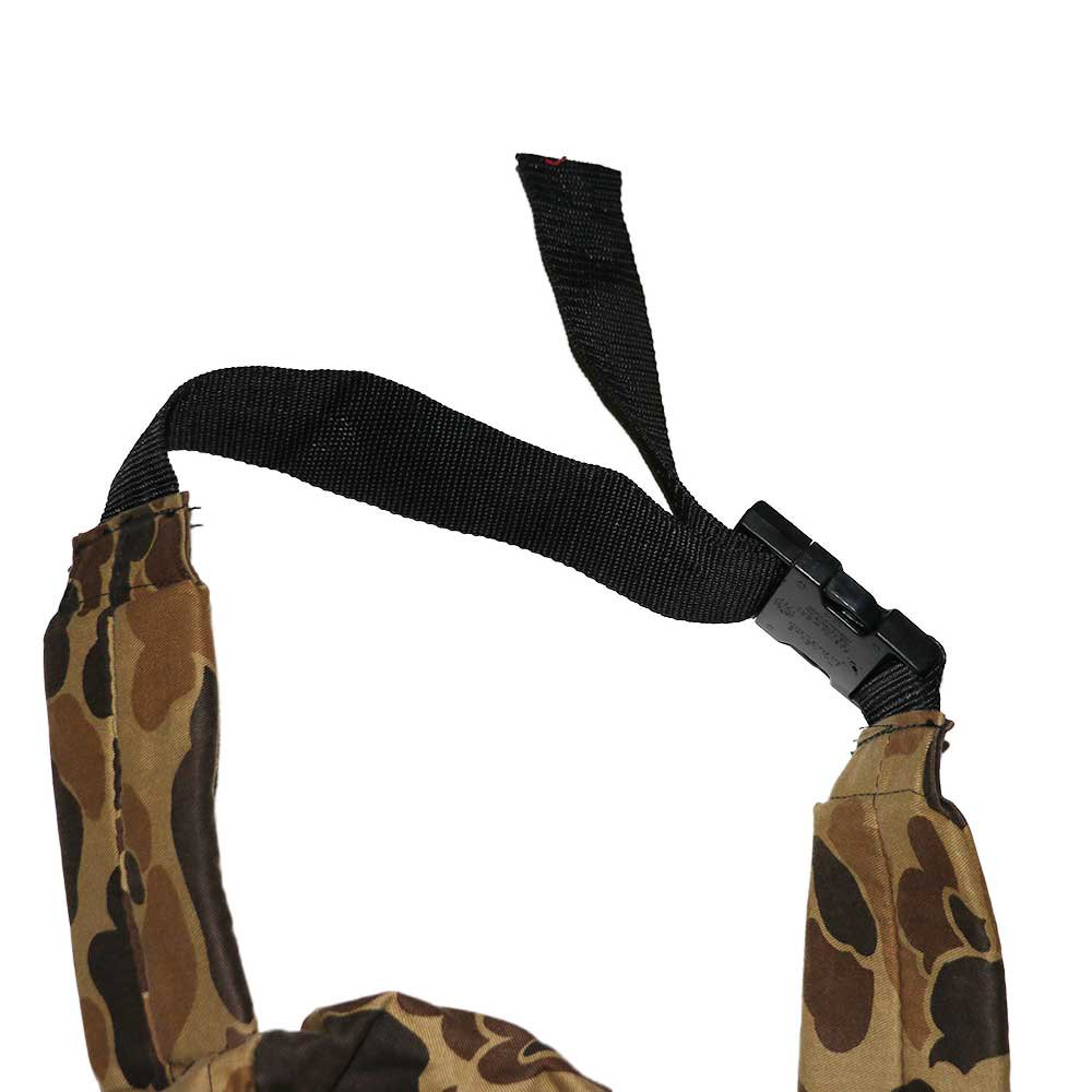 w-means(ダブルミーンズ) FIELDLINE コットンウエストバッグ(Made in U.S.A.)Hunting Camo 詳細画像2