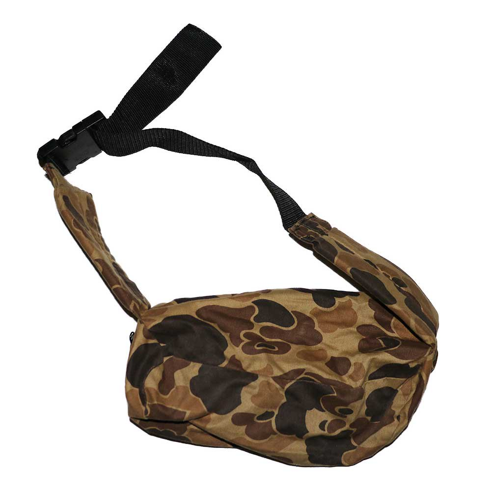 w-means(ダブルミーンズ) FIELDLINE コットンウエストバッグ(Made in U.S.A.)Hunting Camo 詳細画像3