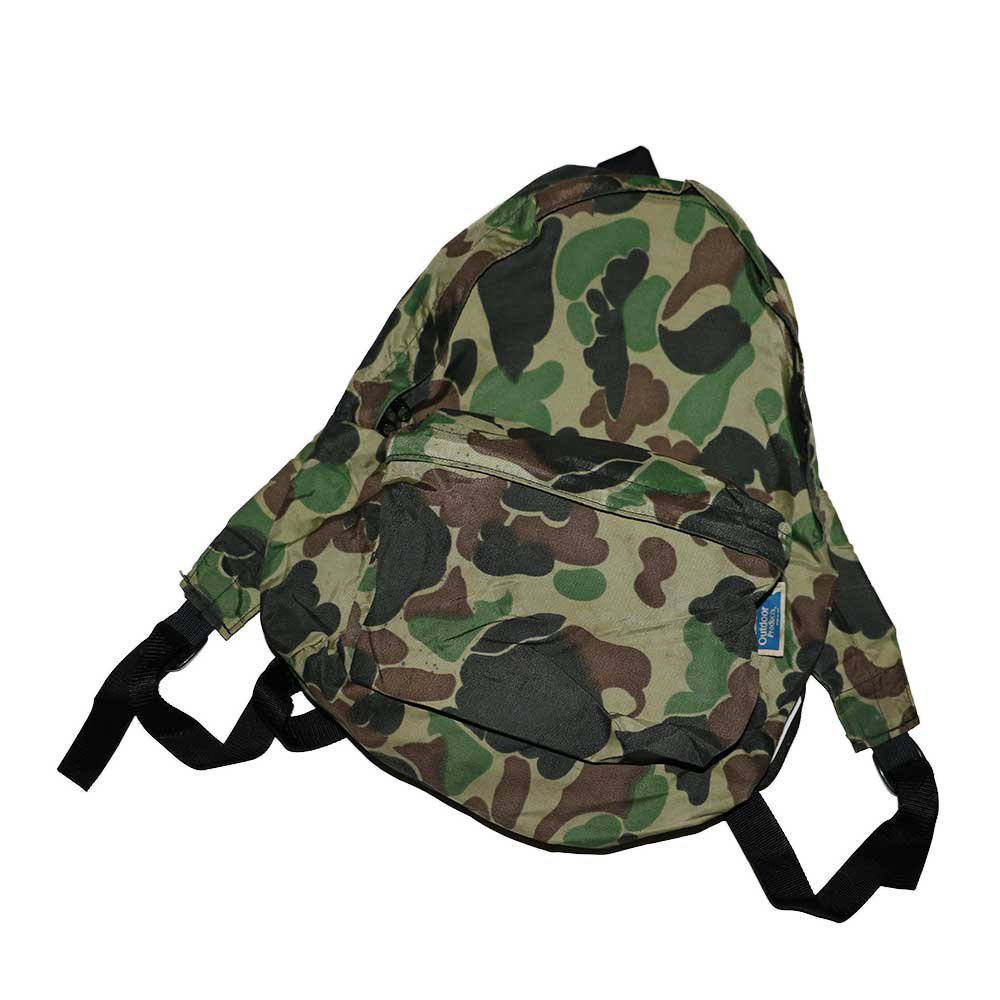w-means(ダブルミーンズ) Outdoor products ナイロンバックパック(Made in U.S.A.)Hunting Camo 詳細画像