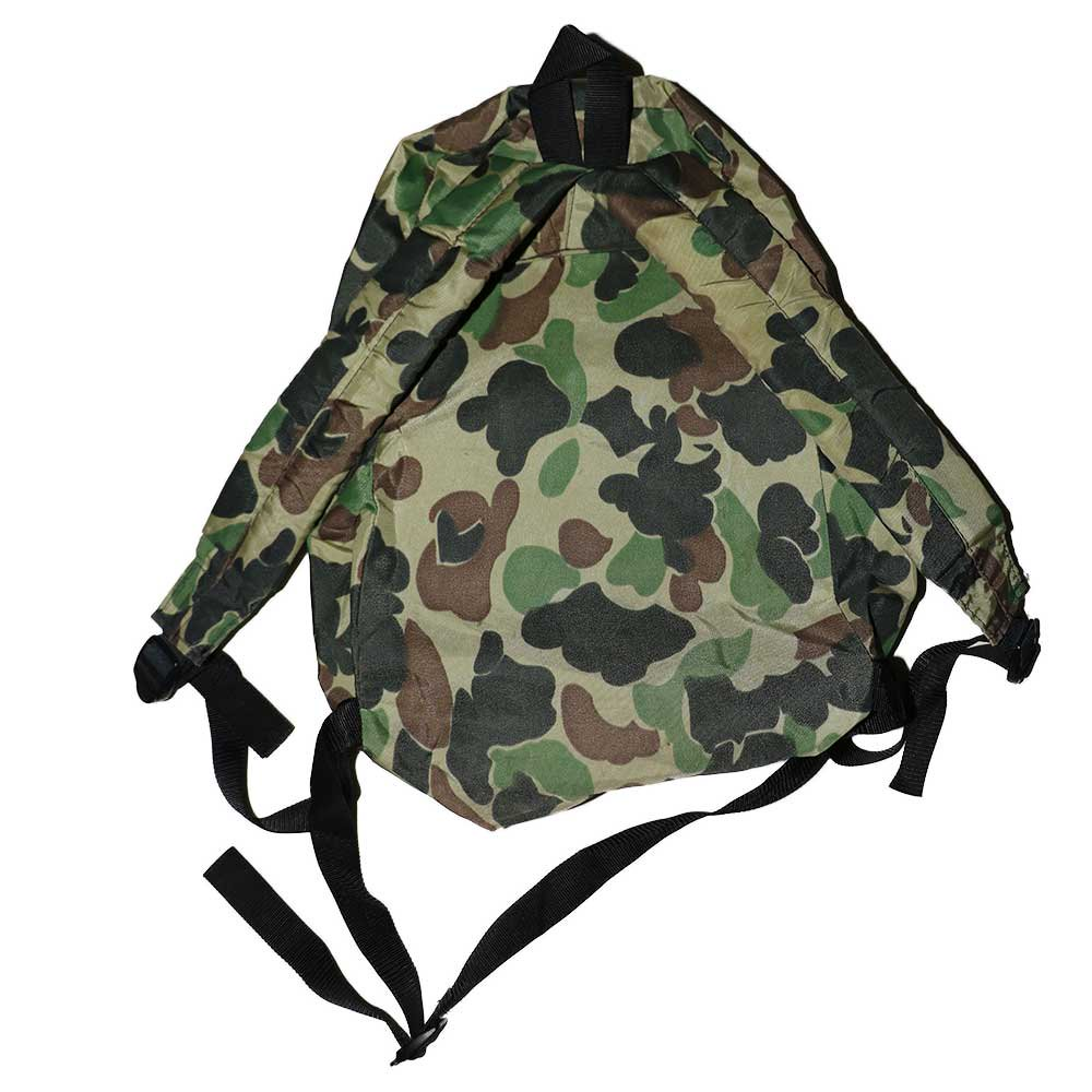 w-means(ダブルミーンズ) Outdoor products ナイロンバックパック(Made in U.S.A.)Hunting Camo 詳細画像1
