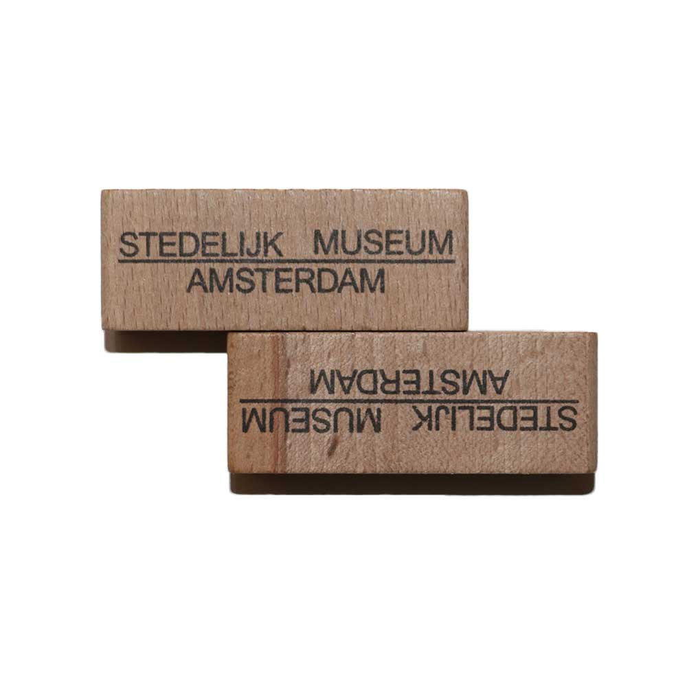 w-means(ダブルミーンズ) AMSTERDAM STEDELIJK MUSEUM - Pencil sharpener - wood material 詳細画像3
