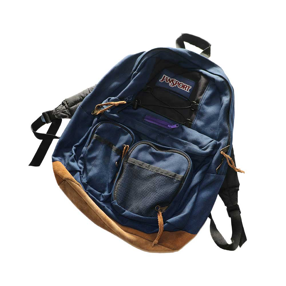 w-means(ダブルミーンズ) JANSPORT ナイロンバックパック  one size  D.Navy 詳細画像