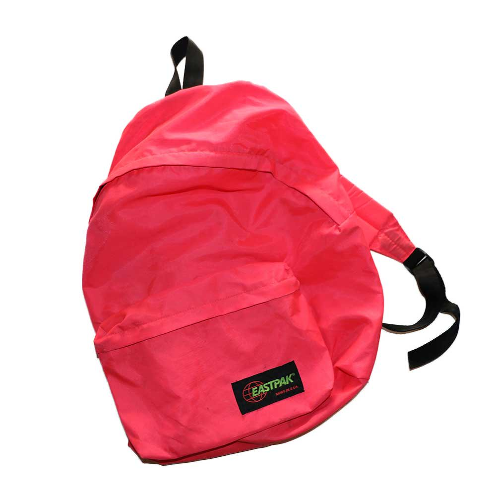 w-means(ダブルミーンズ) EASTPAK  ナイロンバックパック(Made in U.S.A.)one size  PINK 詳細画像