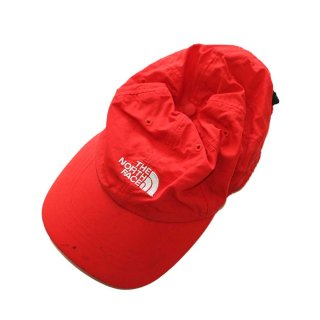THE NORTH FACE ナイロンキャップ one size  Red