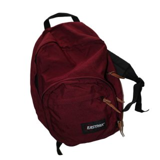 EASTPAK ナイロンバックパック(Made in U.S.A.)ONE SIZE  Burgundy